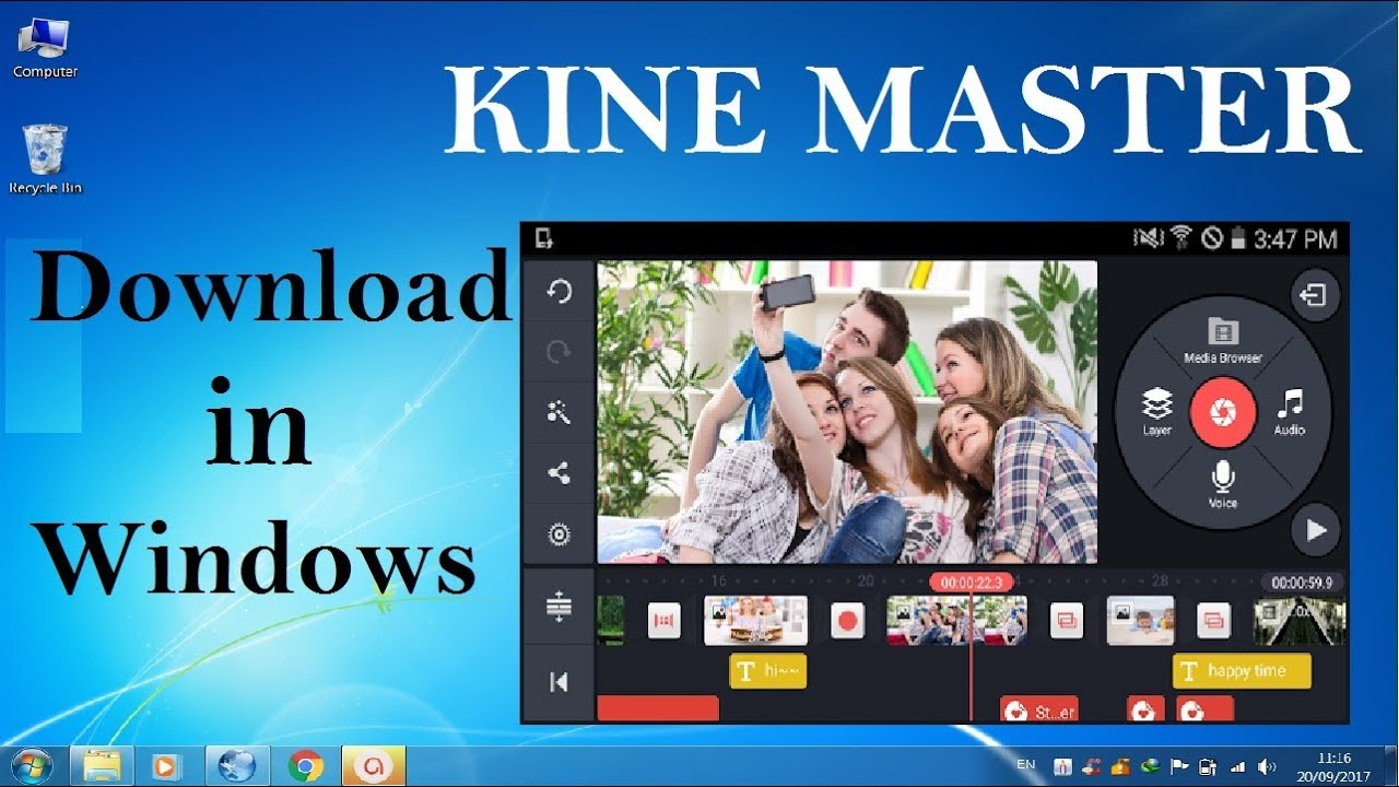 Steps to Downloading KineMaster On A Home windows Pc