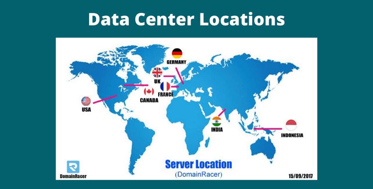 DomainRacer Data Center Location – Best Key Point for Server Location