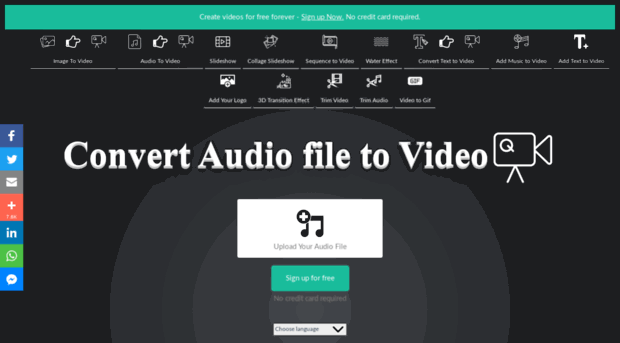Voice2v – An Excellent Tool in the Market for Converting Audio to Video