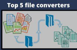 Top 5 file converters