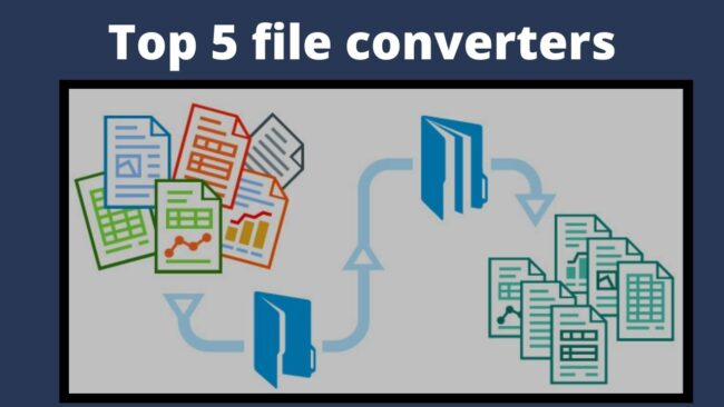 Top 5 file converters