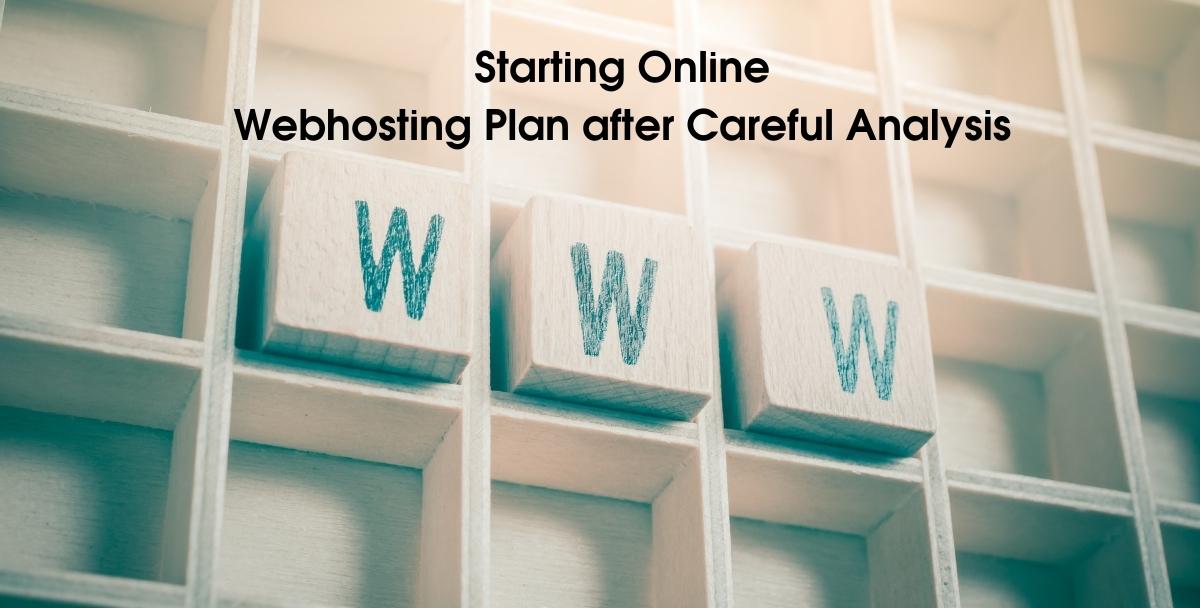 Online Webhosting Plan