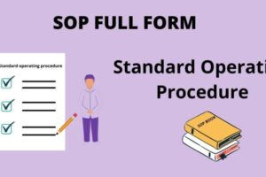 SOP Full Form – What is the Full Form of SOP in English