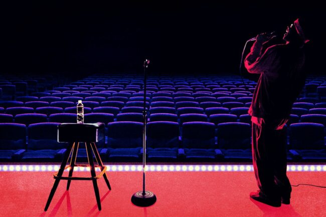 How to get a stand-up comedy Gig