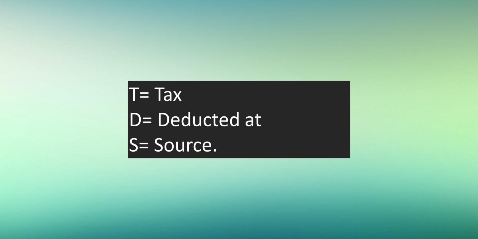 TDS-Full-Form