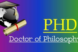 Ph.D Full Form – What is the Full Form of Ph.D