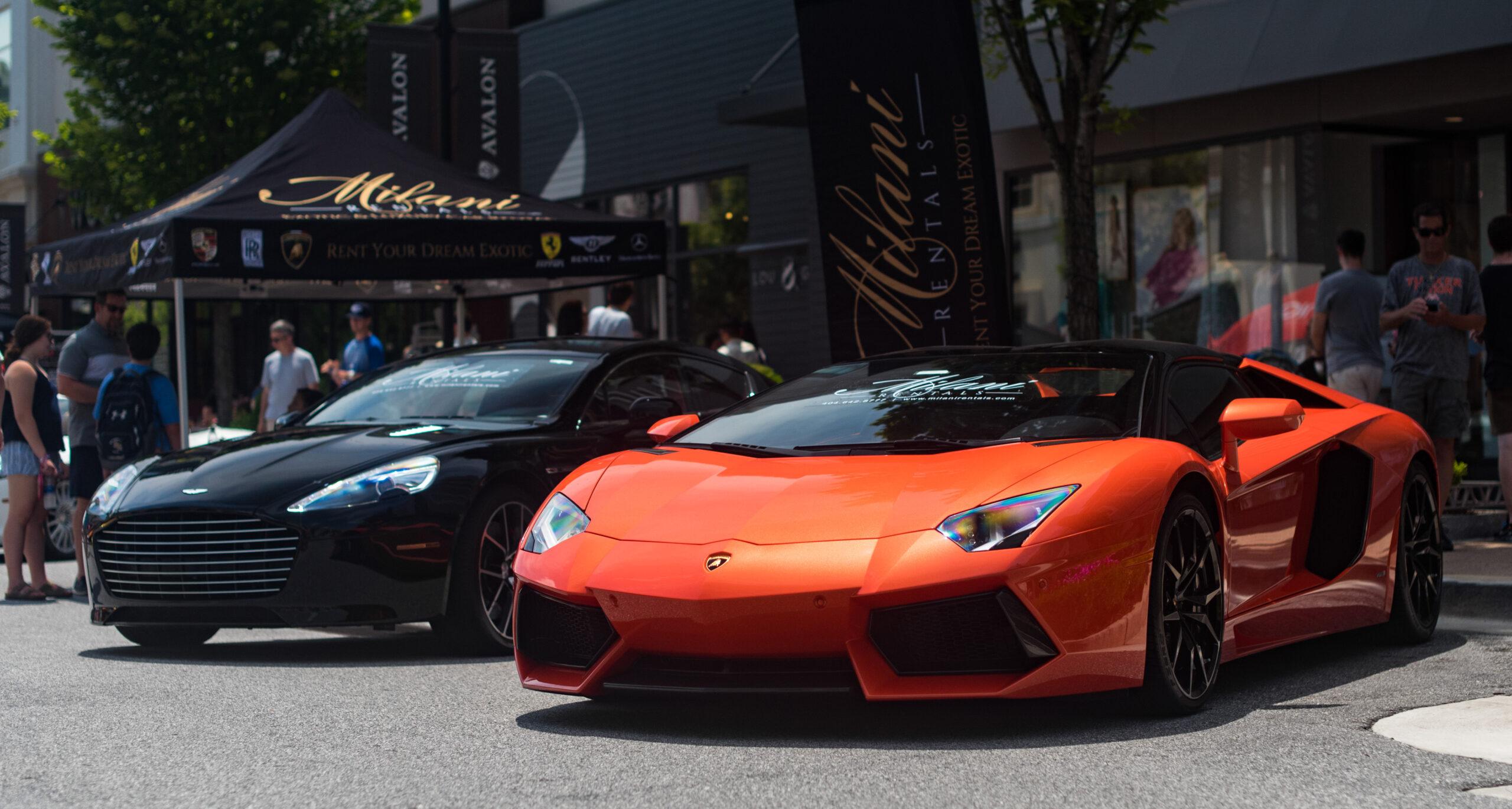 Lamborghini and Aston Martin_Exotic Cars
