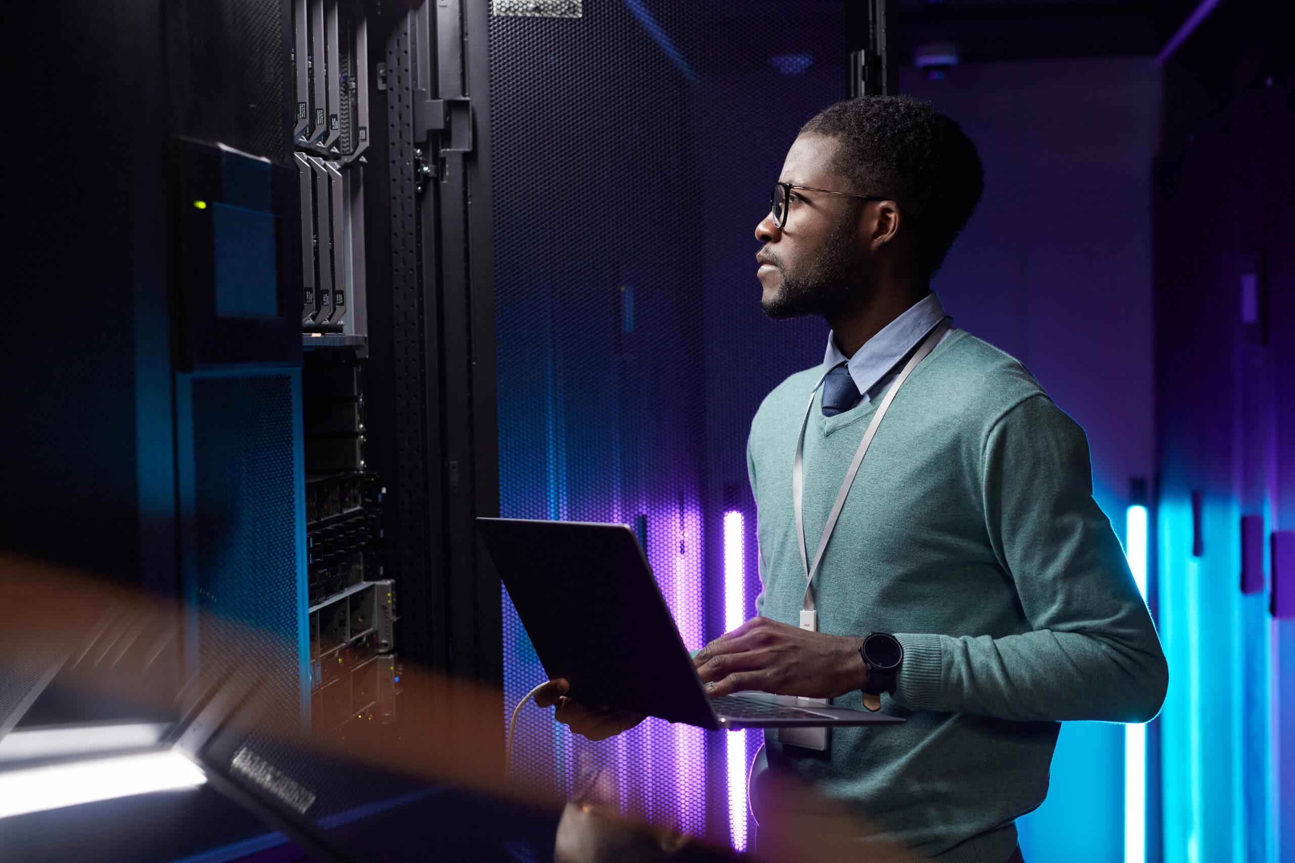 IT Engineer in Server Room