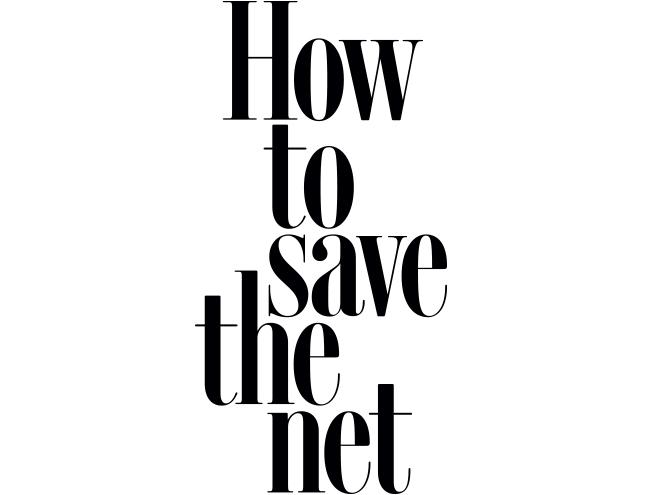 save the internet